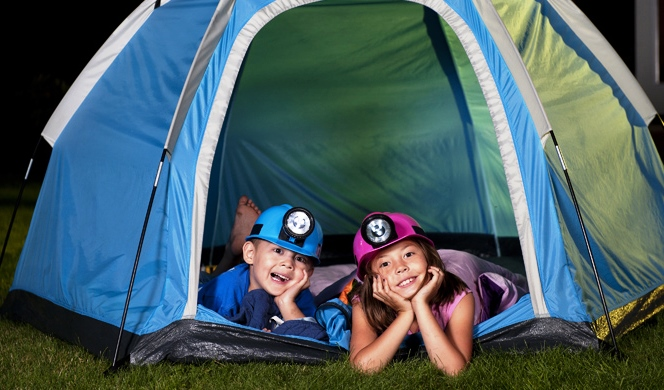 Fun Things to Do with Kids Camping Activity