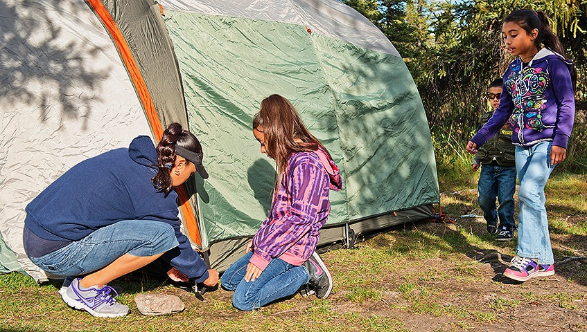Fun Things to Do with Kids Camping